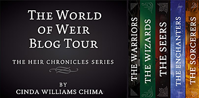 The World of Weir Blog Tour banner